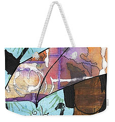 Raindrops... And Sunshine Weekender Tote Bag by Angela L Walker