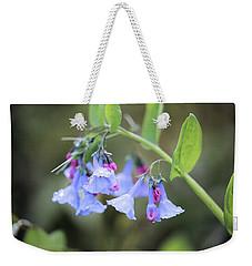 Raindrops On Blue Bells Weekender Tote Bag