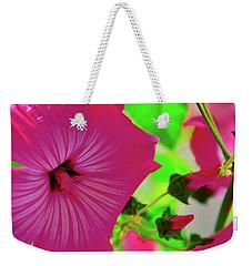 Raindrops On Flowers Weekender Tote Bag