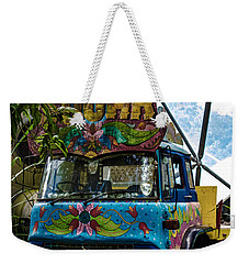 Rainforest Delivery Weekender Tote Bag by Martin Newman