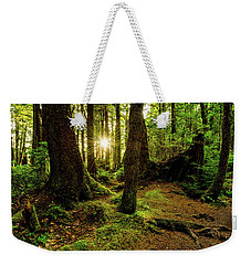 Rainforest Path Weekender Tote Bag