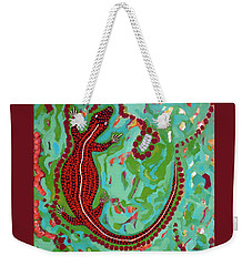 Rainforest Skink Weekender Tote Bag