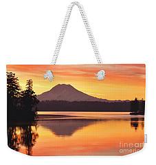 Rainier Dawn Weekender Tote Bag