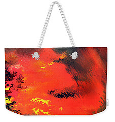 Raining Fire Weekender Tote Bag