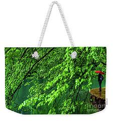 Raining Serenity - Plitvice Lakes National Park, Croatia Weekender Tote Bag