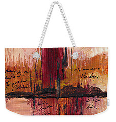Rains Down Hell Weekender Tote Bag