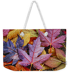 Rainy Day Colors Weekender Tote Bag