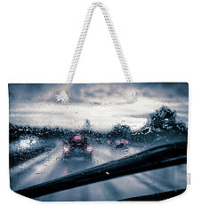 Rainy Day In July Weekender Tote Bag