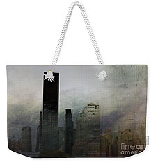 Rainy Day In Manhattan Weekender Tote Bag