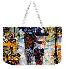 Rainy Day In Olde London Town Weekender Tote Bag