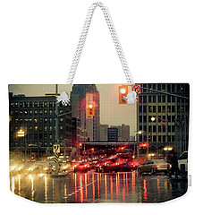 Rainy Day In Ottawa Weekender Tote Bag