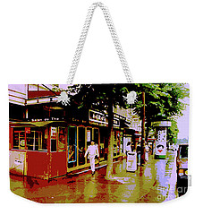 Rainy Day In Paris Weekender Tote Bag