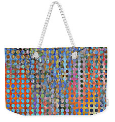 Rainy Day In The Garden Weekender Tote Bag