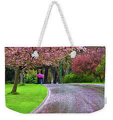 Rainy Day In The Park Weekender Tote Bag by Keith Boone