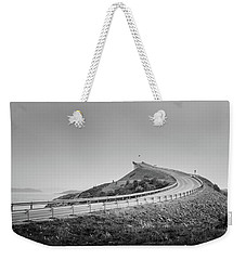 Rainy Day On Atlantic Road Weekender Tote Bag