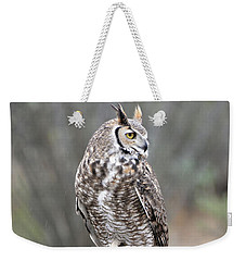 Rainy Day Owl Weekender Tote Bag