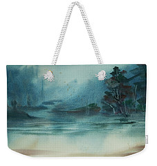 Rainy Inlet Weekender Tote Bag by Jani Freimann