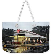 Rainy Morning At Krystal Weekender Tote Bag