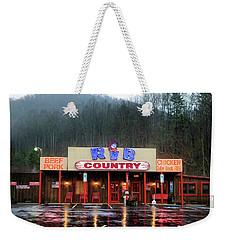 Rainy Morning At Rib Country Weekender Tote Bag