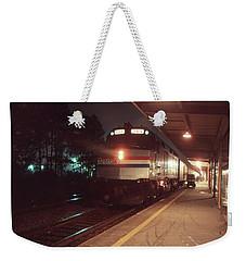 Rainy New Year's Eve Weekender Tote Bag