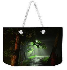 Rainy Night Weekender Tote Bag