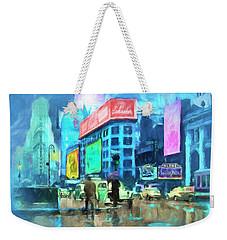 Rainy Night In New York Weekender Tote Bag