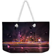 Rainy Night In Shanghai Weekender Tote Bag