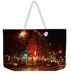 Rainy Night San Francisco Weekender Tote Bag