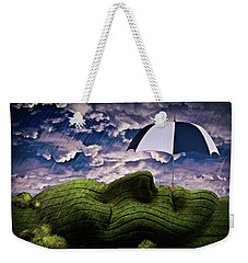 Rainy Summer Day Weekender Tote Bag by Mihaela Pater