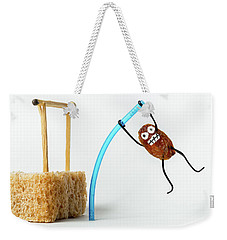 Raisin Pole Vault Weekender Tote Bag
