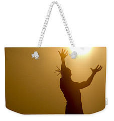 Raising The Sun Weekender Tote Bag