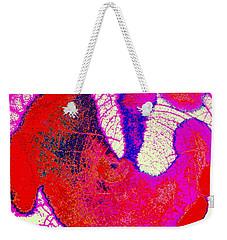 Raku Abstract Weekender Tote Bag by M Diane Bonaparte