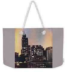 Raleigh Skyscrapers Weekender Tote Bag by Ryan Fox