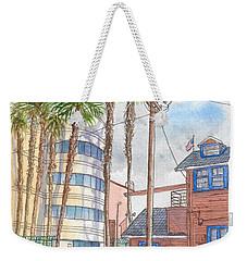 Raleigh Studios In Hollywood, California Weekender Tote Bag