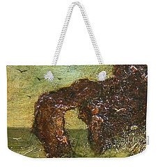 Weekender Tote Bag featuring the painting Ralph Albert Blakelock  1847  1919  Marine, Seal Rock by Artistic Panda