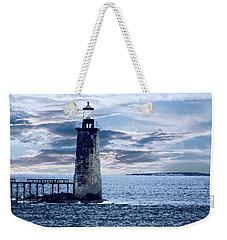 Ram Island Head Lighthouse.jpg Weekender Tote Bag