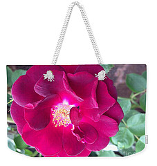 Rambling Rose Weekender Tote Bag