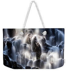 Ramona Falls With Rainbow Weekender Tote Bag