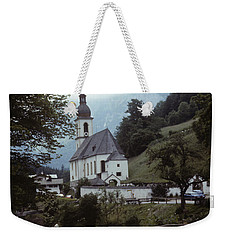 Ramsau Church Weekender Tote Bag