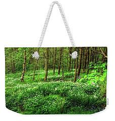 Ramsons And Bluebells, Bentley Woods Weekender Tote Bag