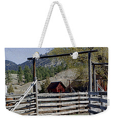 Ranch Fencing And Tool Shed Weekender Tote Bag
