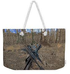 Ranch Fencing Weekender Tote Bag