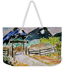 Ranch Outside Salida Weekender Tote Bag
