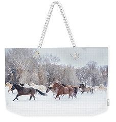 Ranch Run Weekender Tote Bag