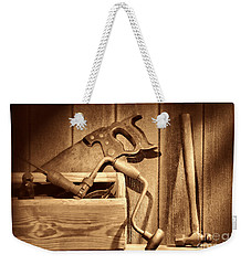 Ranch Tools  Weekender Tote Bag by American West Legend By Olivier Le Queinec