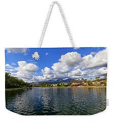 Rancho Santa Margarita Lake Weekender Tote Bag