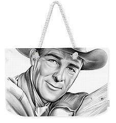Randolph Scott Weekender Tote Bag