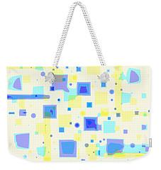 Random Blips Weekender Tote Bag