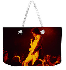 Randy Hansen - Old Waldorf Sf Hendrix Backward Effect Weekender Tote Bag