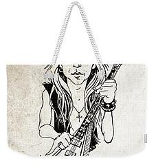 Randy Rhoads Weekender Tote Bag by Gary Bodnar